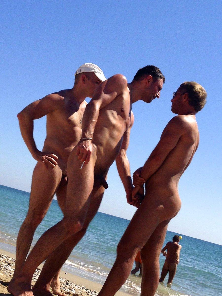 Beach tumblr nude Gay men
