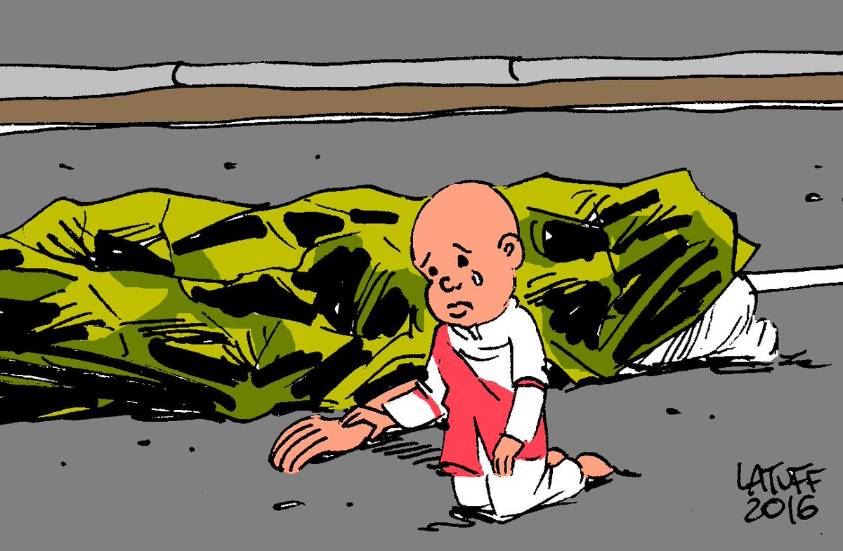 Artists Are Drawing Heartbreaking Cartoons In Response To The Nice Attack