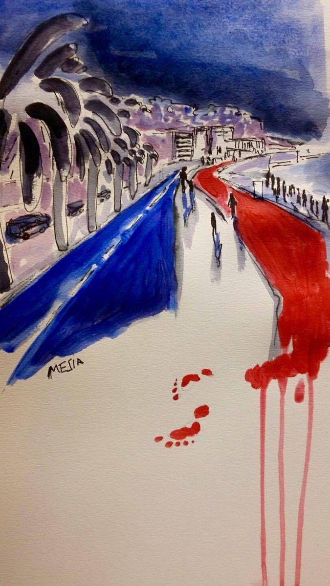 Poignant dessin d'une lectrice de @lemondefr sur #Nice06 via @martelclem https://t.co/SFy48TiYs9