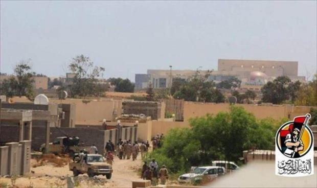 Libya Misrata forces advance on IS hold Wagadugow Congress Hall in  Sirte