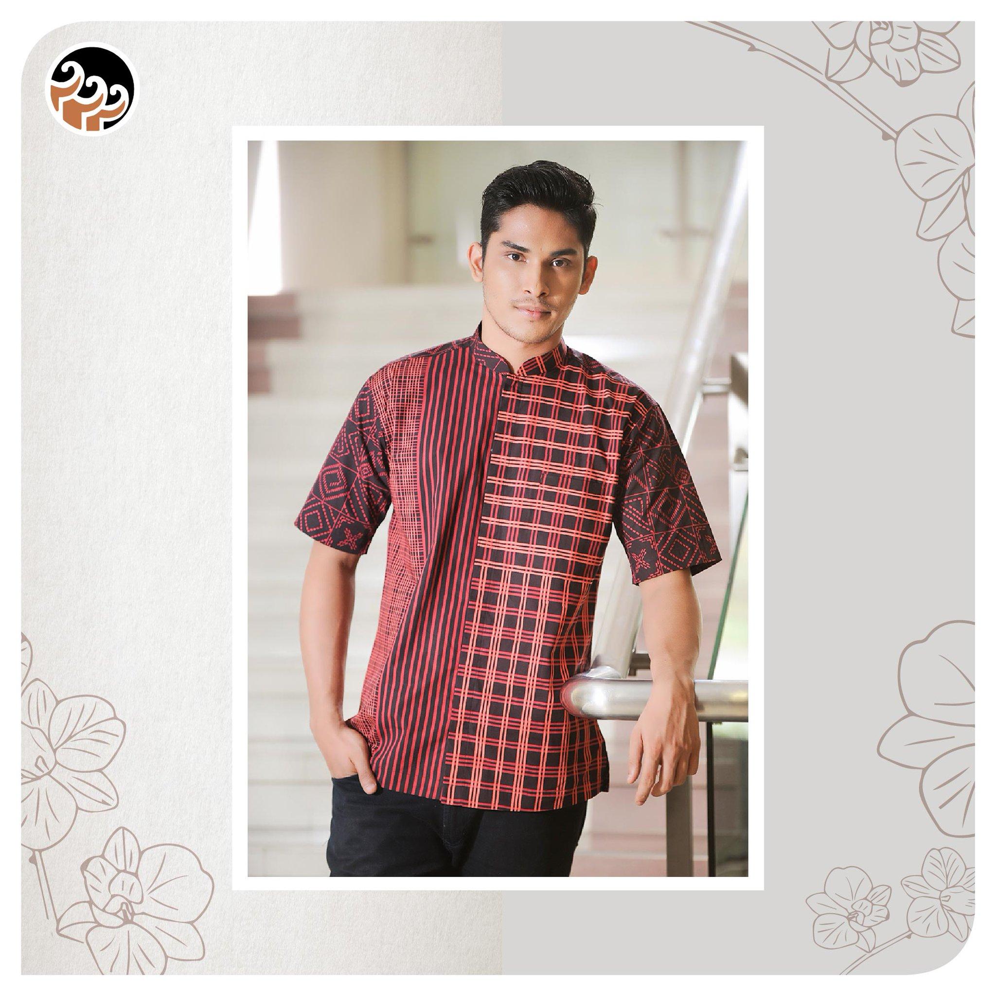 """Batik Motif Bunga Pria: Batik Keris On Twitter: """"Kemeja Batik Pria Yg Terinspirasi"""