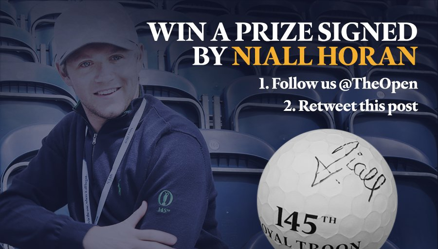 Who wants a piece of @NiallOfficial? Follow us and RT this post for a chance to win. #TheOpen #NiallHoran