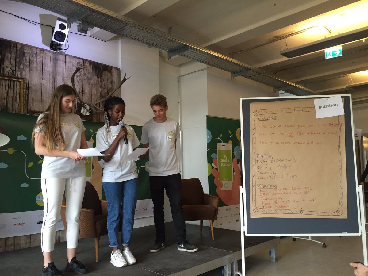 Really great to see the kids think and act for a sustainable planet newconcepts greenhack toa16 httpst coapeuxffwqf