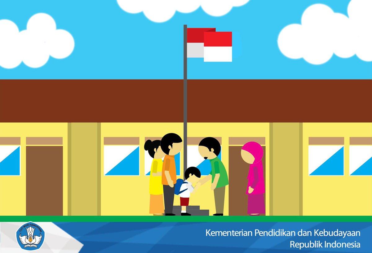 Merdekabelajar On Twitter Dampingi Anak Anda Di Hari Pertama Masuk Sekolah Mari Wujudkan Interaksi Positif Antara Orang Tua Guru Murid