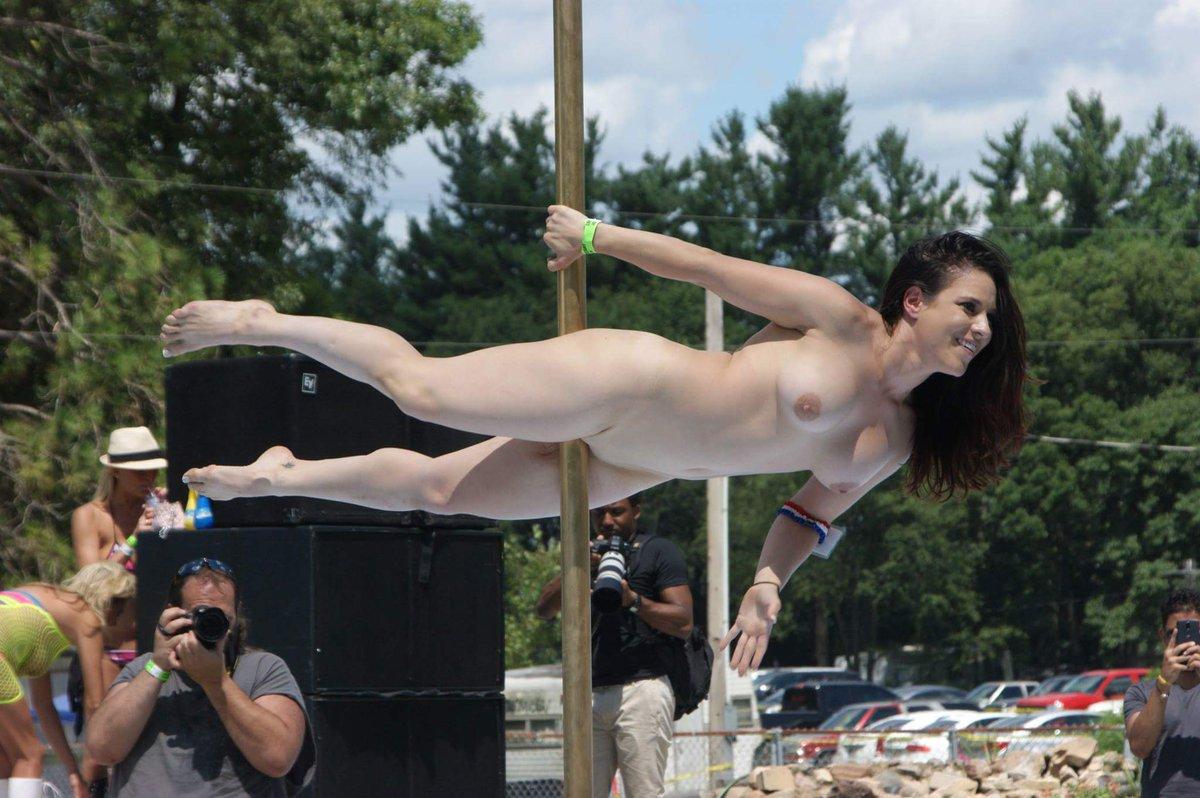 A stripper pole in her boyfriend039s room 5