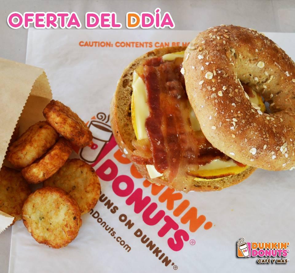 Dunkin Donuts Gt On Twitter Un Rico Bagel Spicy Y Unas Hashbrown Para Tu Almuerzo De Hoy Mydunkin Https T Co Qea1y6yjls