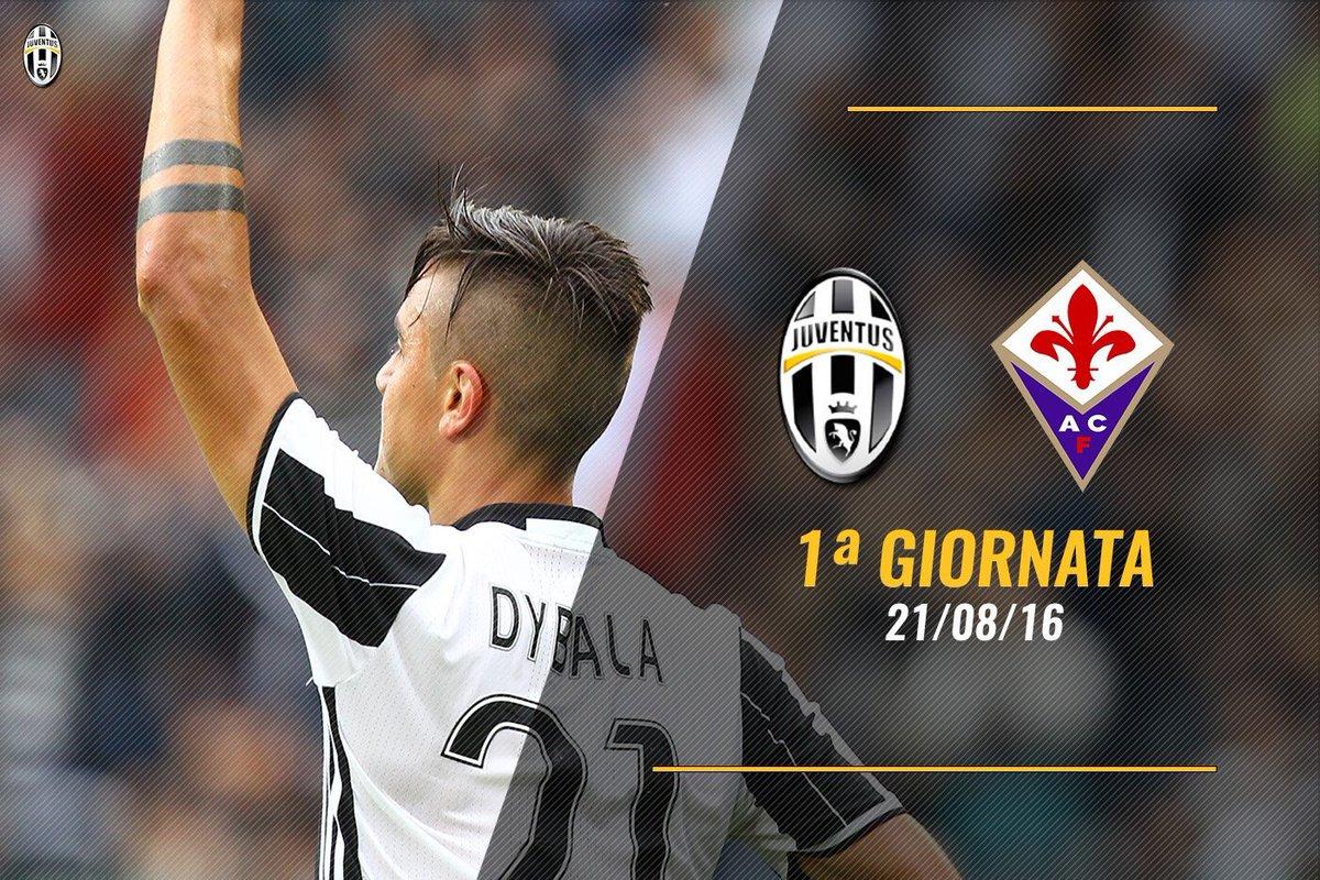 Calendario di calcio Serie A 2016-2017, si inizia con Juventus-Fiorentina