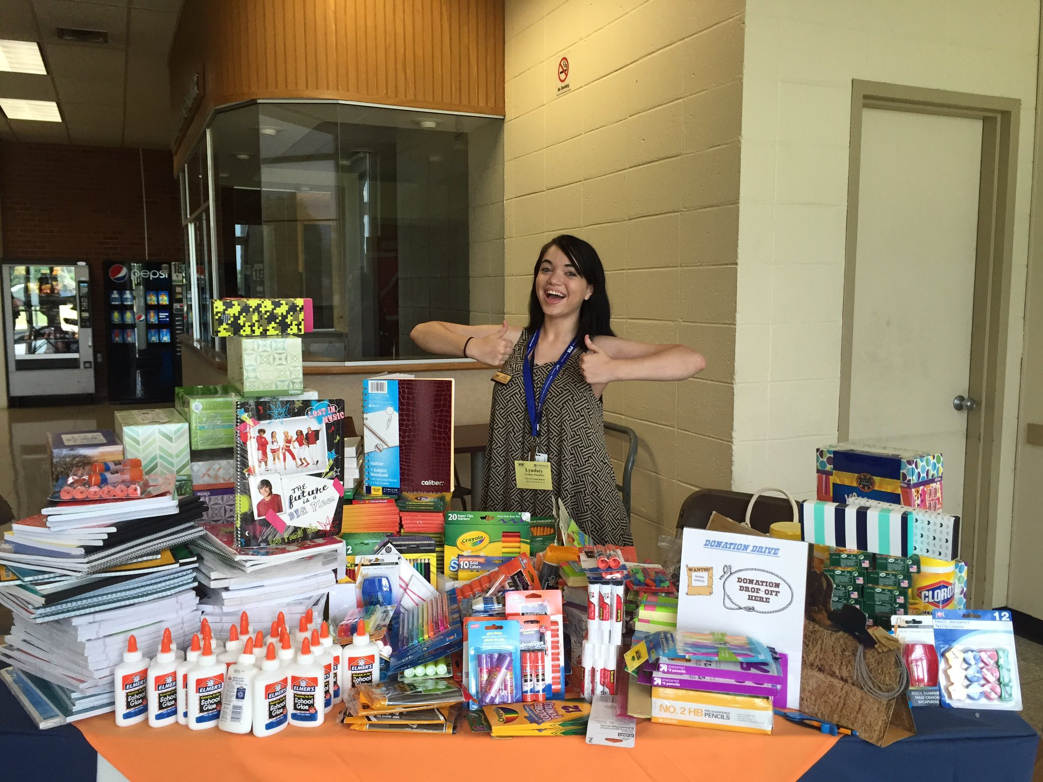 Our great @nyspta youth board member, organized amazing drive for local school! https://t.co/fhNCad9WBA