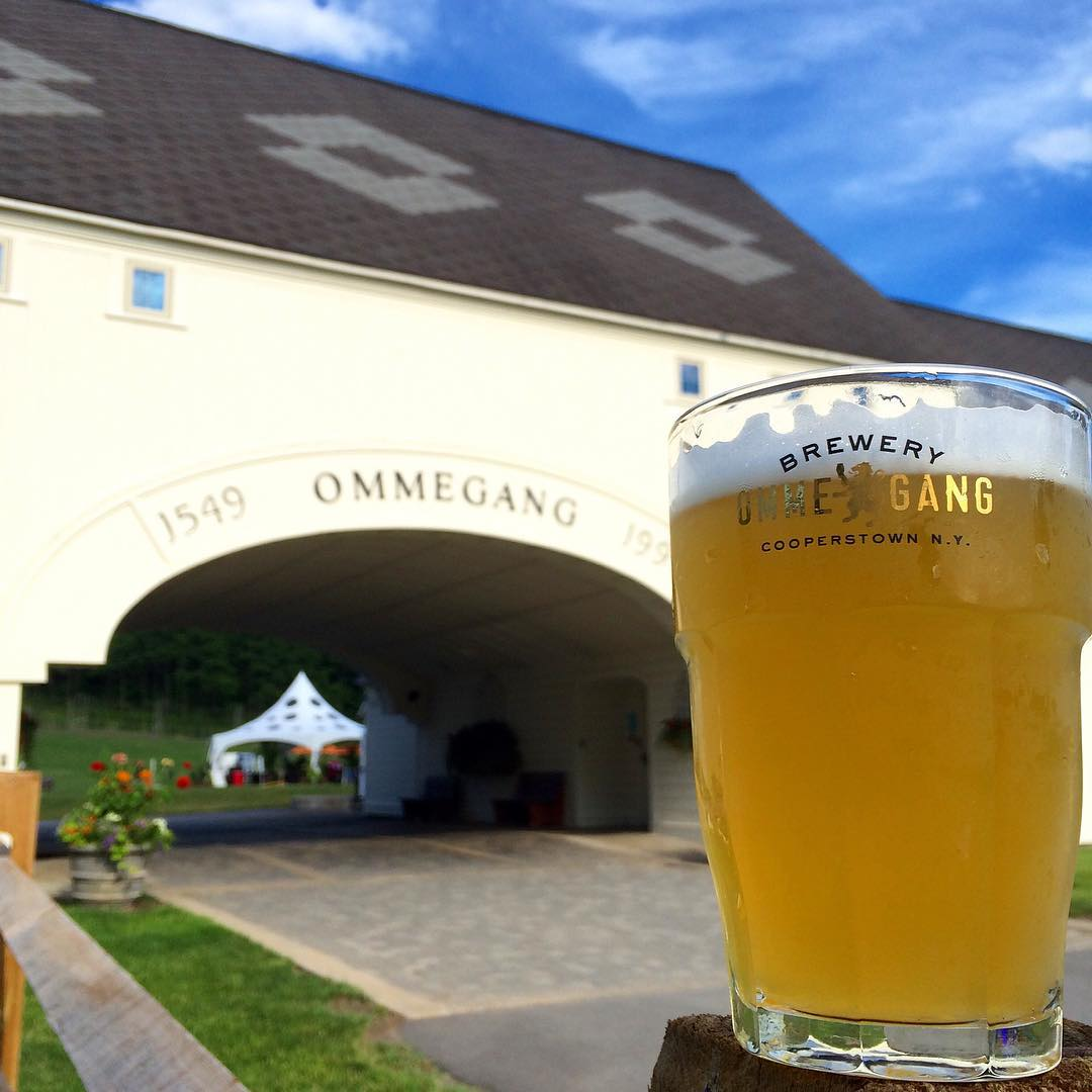 Saturdays are made for enjoying Belgian-style beers @BreweryOmmegang.