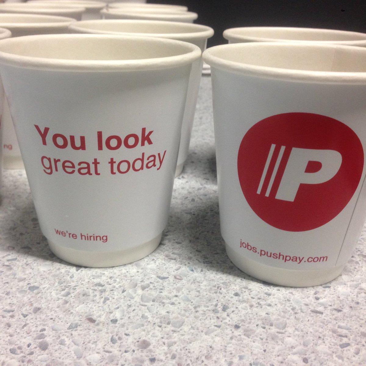 Complimentary coffee. ;-)   #nzgather https://t.co/B02gfDaZVd