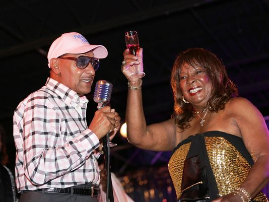 Hundreds celebrate Martha Reeves at birthday party open to the public