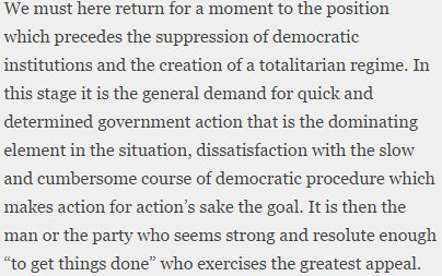 "Hayek in ""The Road to Serfdom,"" eternally relevant. https://t.co/yeXsSHnFdn"