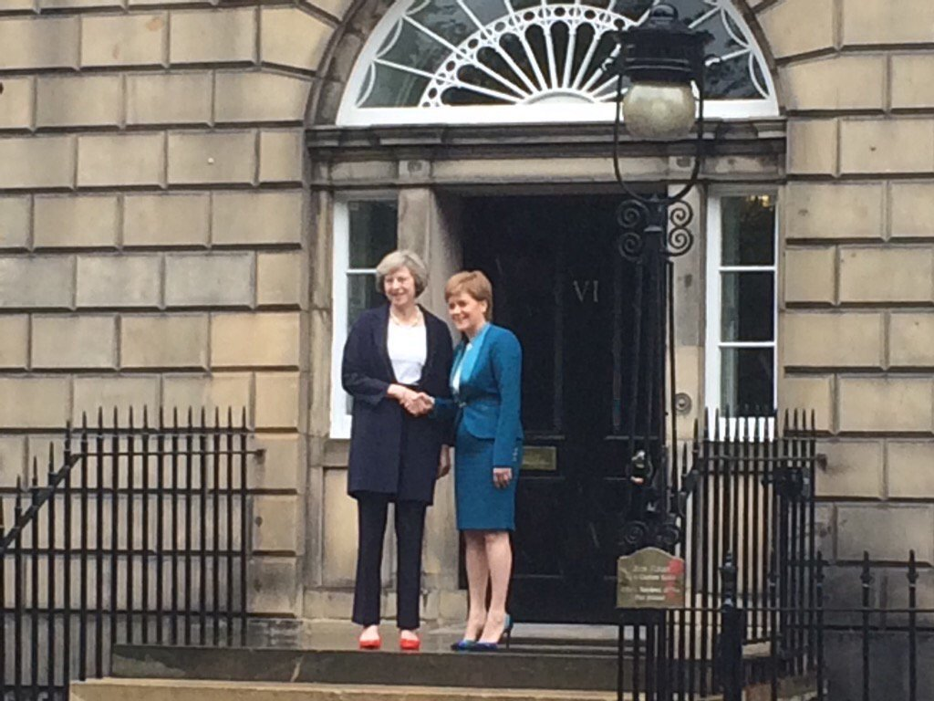 Politics aside - I hope girls everywhere look at this photograph and believe nothing should be off limits for them. https://t.co/QGZI3Cgw8d