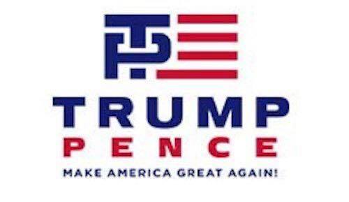 This logo accurately represents what Trump Pence will do to America. https://t.co/HQisP8QVzb