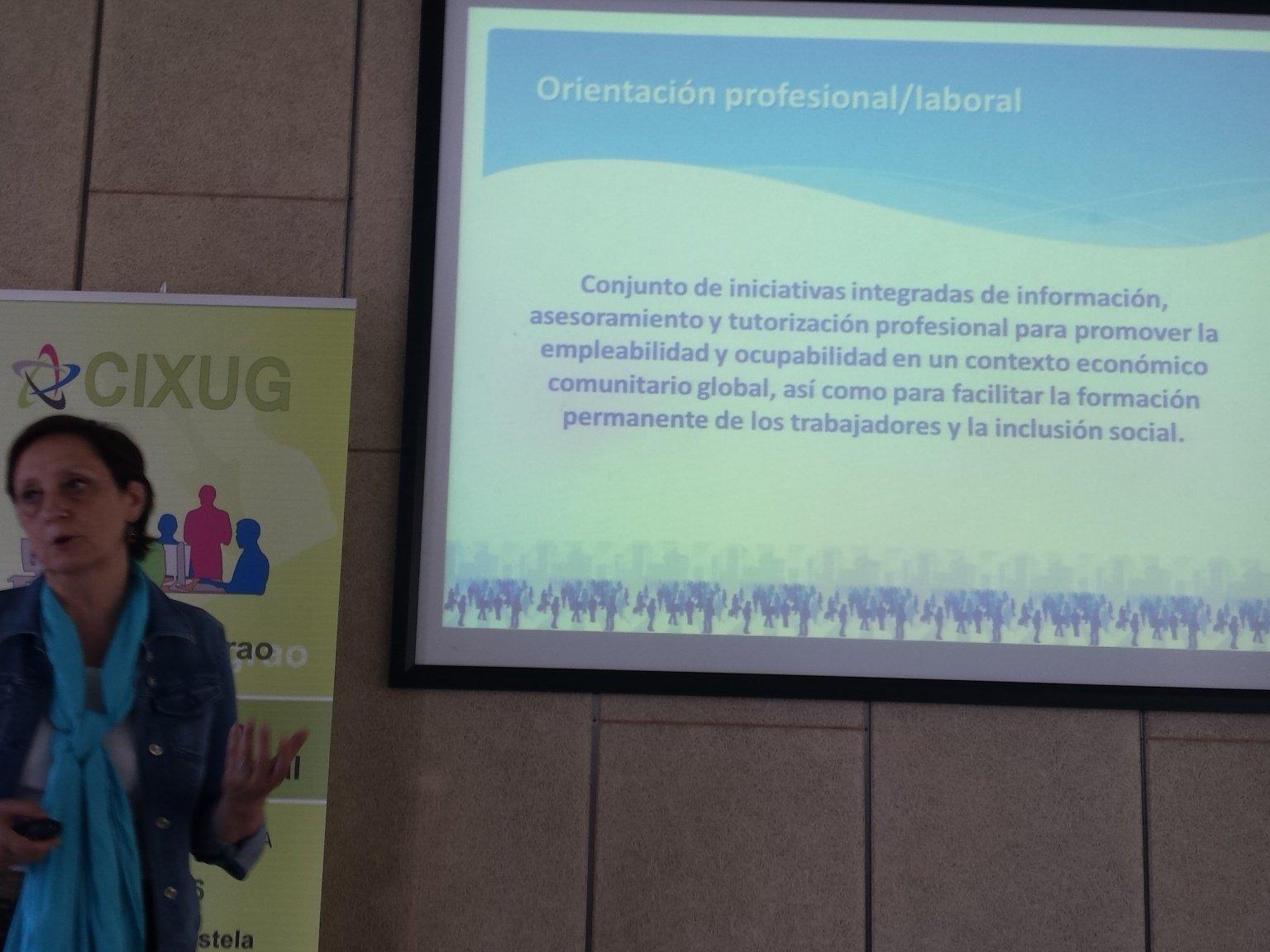 Fundamental: desarrollar iniciativas de orientación profesional /laboral  #POLAB16 https://t.co/WAyav8ZLp8