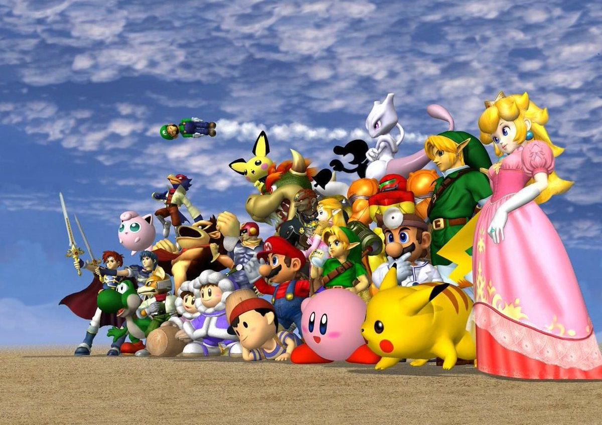 Vice Games On Twitter Why Super Smash Bros Melee Is The Game To