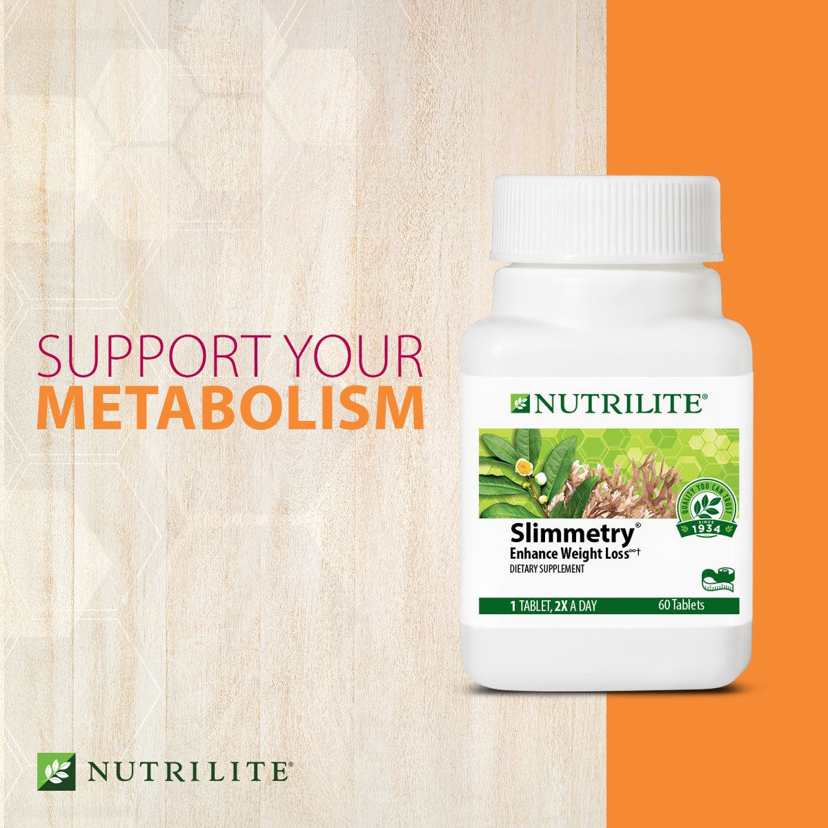 Support Nutrilite Slimmetry Weight Loss Support Healthy Metabolism