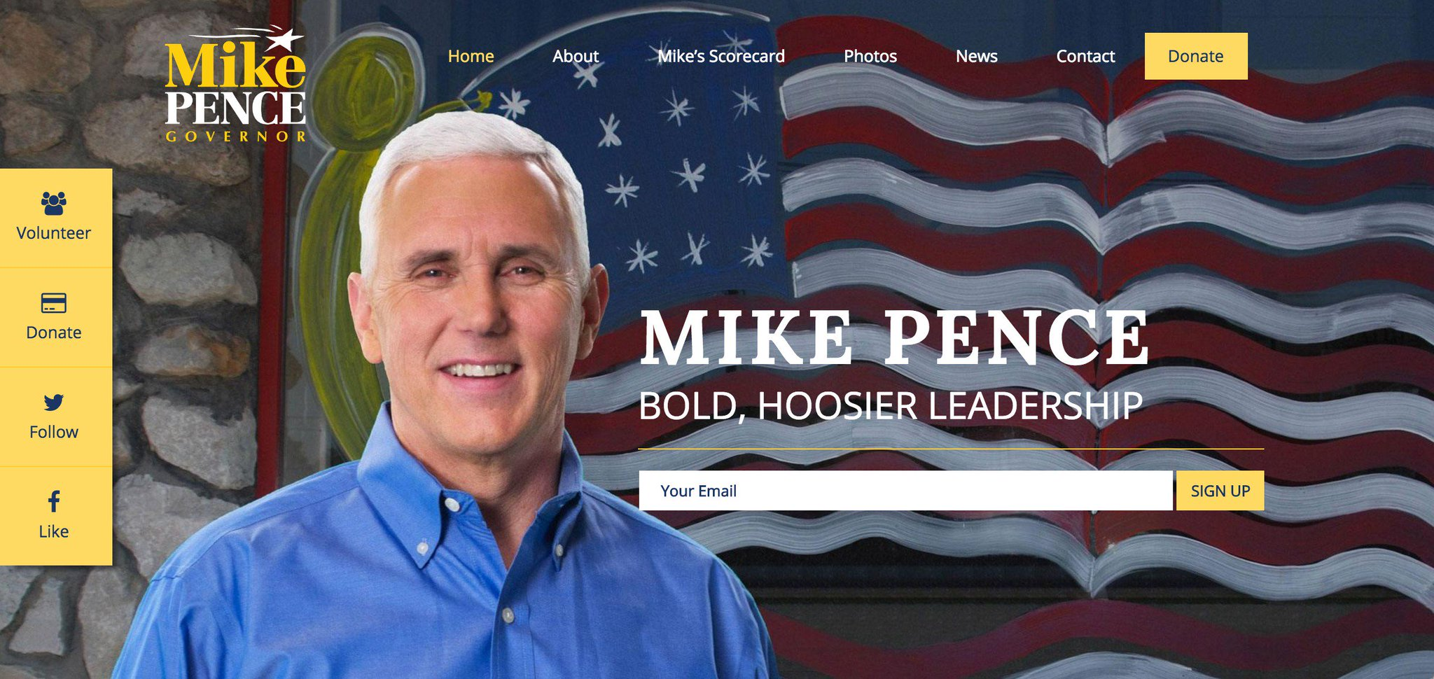 6) Have Pence update HIS political home page, or at least redirect to a Trump-related page https://t.co/zBXa70YUUv