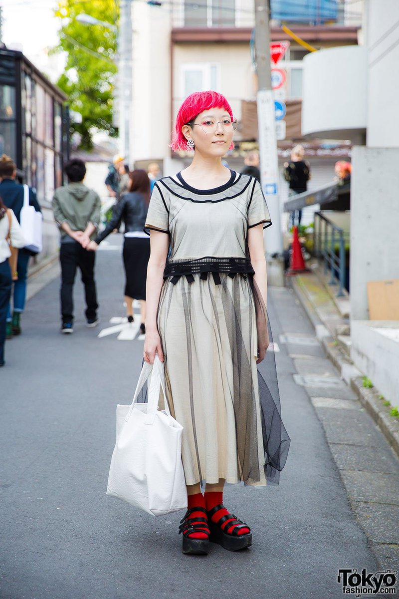 1728fd0d4d82 harajuku designer w comme des garcons dress tokyo bopper sandals amp shiho  tabei items