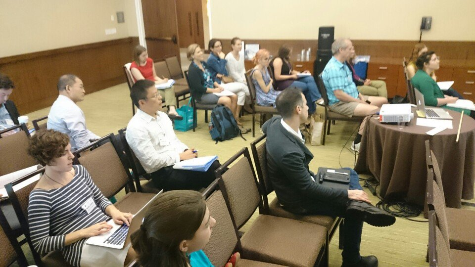 Great session on modeling education.  Last timeslot of conference ...great group! #SIAMAN16 https://t.co/AsqojjzMr1