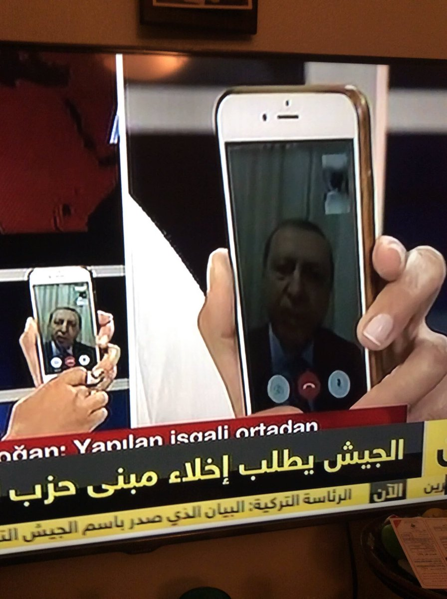 #Irony: president with a history of censoring social media, using social media to talk to citizens.. #TurkeyCoup https://t.co/heuMiCzt7n