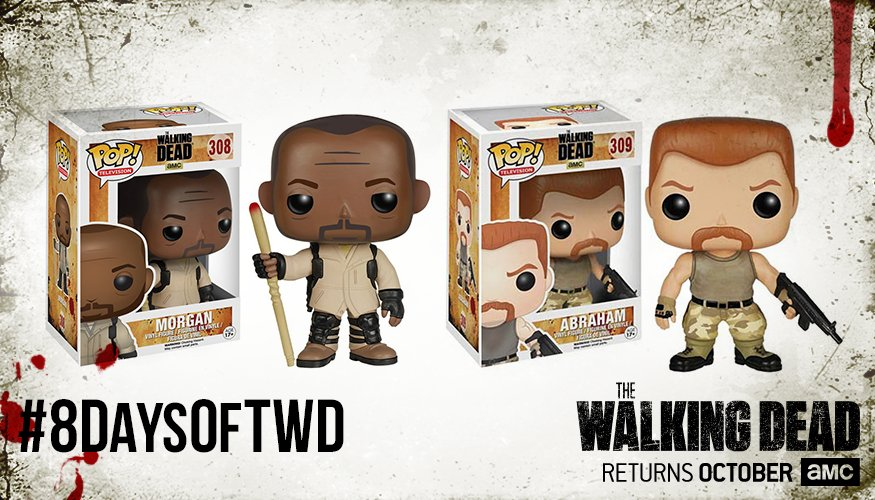 Ready for #TWDSDCC? RETWEET for a chance to win today's #8DaysofTWD @OriginalFunko prize. #sweepstakes