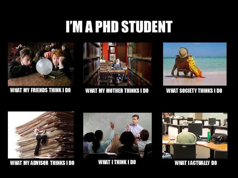 .#Funny Friday! #PhDStudent #PhD