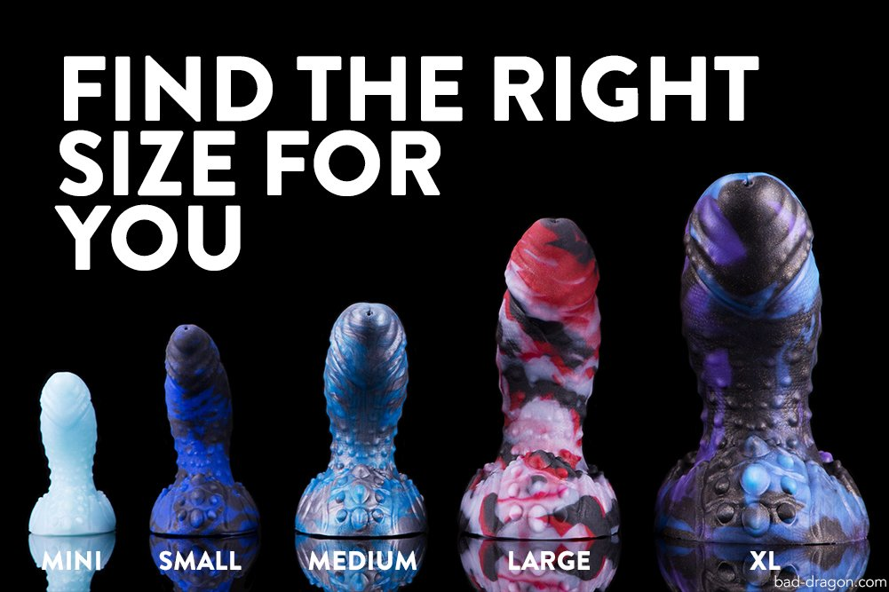 Bad Dragon News on Twitter: New to Bad Dragon? Look at
