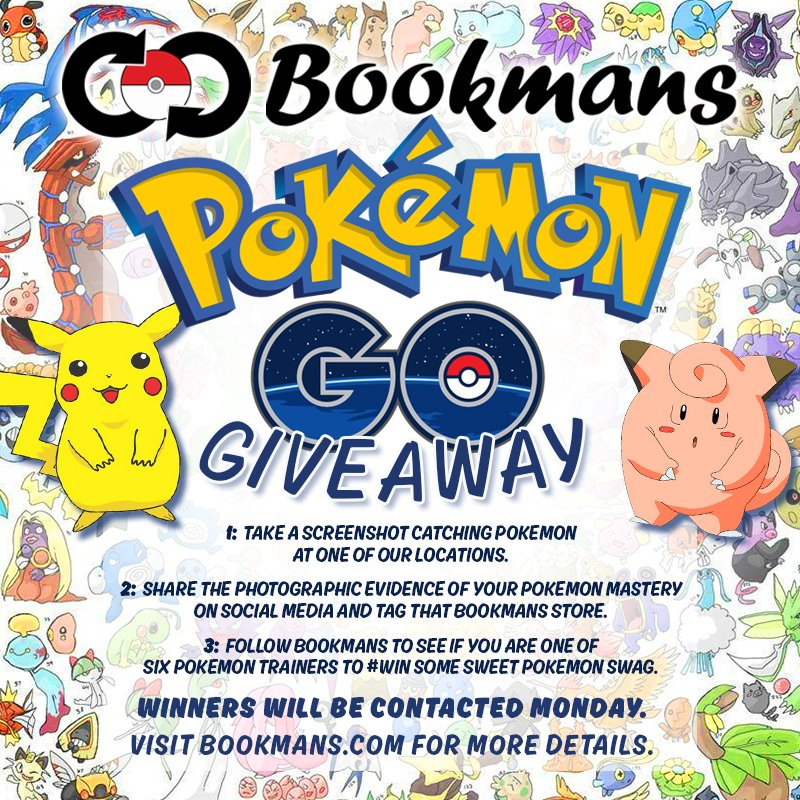 WHHHAAATTTT?????? We're giving away cool stuff for catching Pokemon? #PokemonGO giveaway kicks off tomorrow at 9am. https://t.co/BjXgQ3B7BC