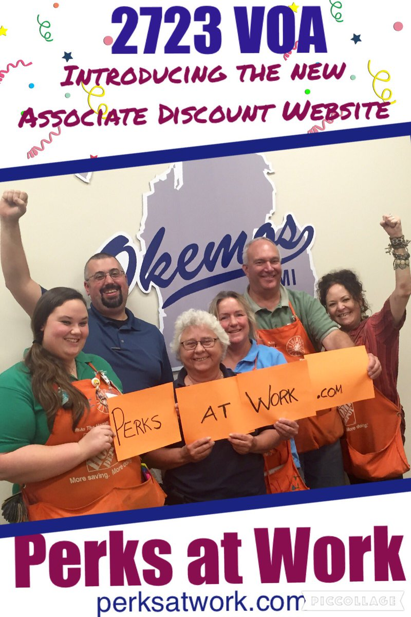 Home Depot Corporate Perks Website