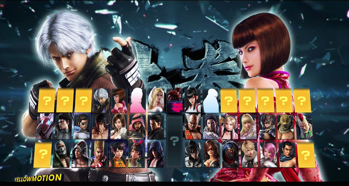 Remaining Characters I Think These Will Make It 2 Tekken