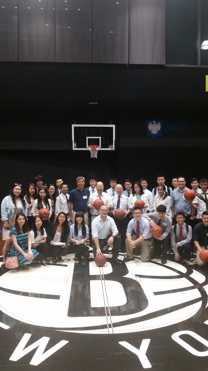 NYC Chinese Chamber of Commerce took a tour of @barclayscenter today. They're excited for @BrooklynNets & @JLin7! https://t.co/Ml8x1O6MIh