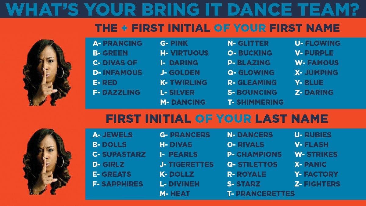 Dancing Group Names 112