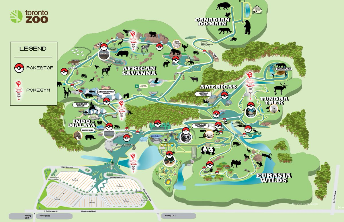 Toronto Zoo Map The Toronto Zoo na Twitteru: