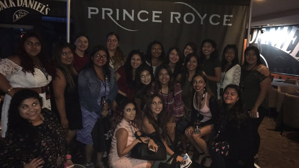 We took a group photo with out you since we don't get ours with you till later @PrinceRoyce now
