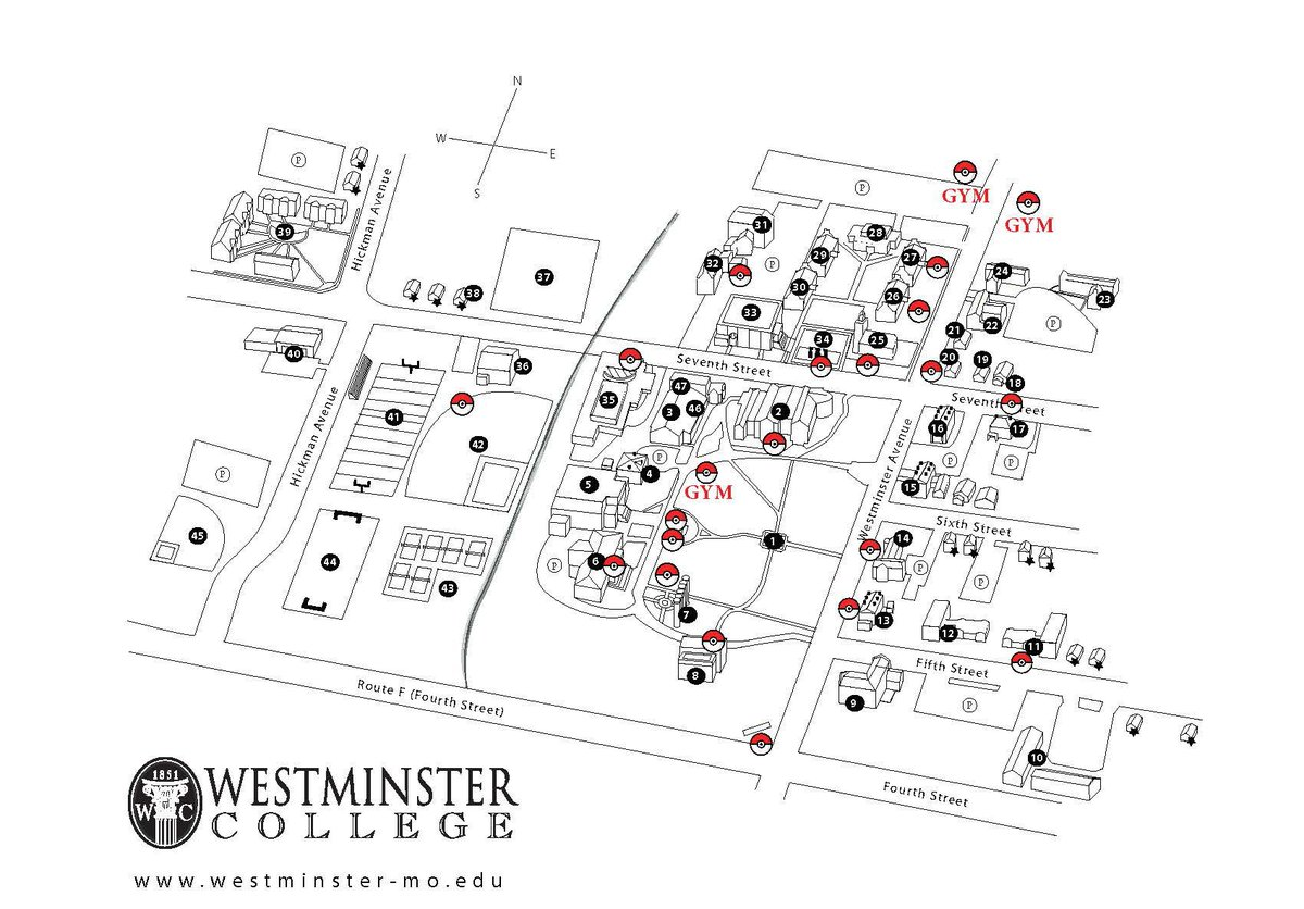 Westminster College On Twitter Crazy For Pokemongo Here S Your
