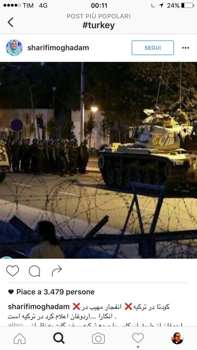 Carrarmati per strada #Turkey https://t.co/8RyGixWXTl