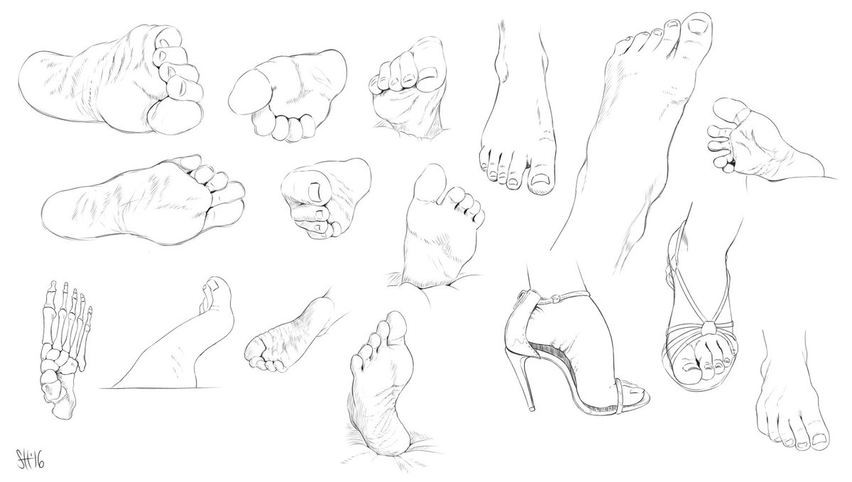 Sorc On Twitter Foot Studies Feet Shoes Study Sketch Bones
