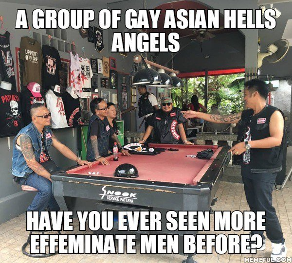 from Griffin hells angels are gay