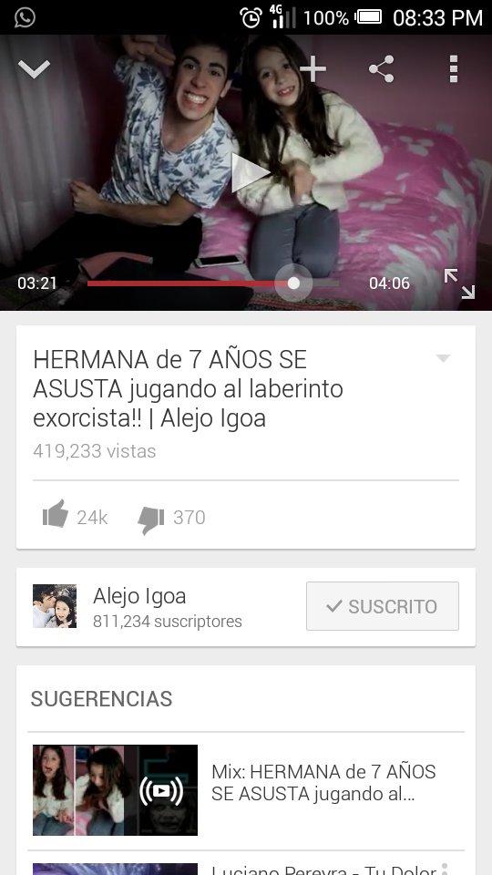 Alejo Igoa On Twitter Nuevo Videovideo Reaccion Hermana Juega