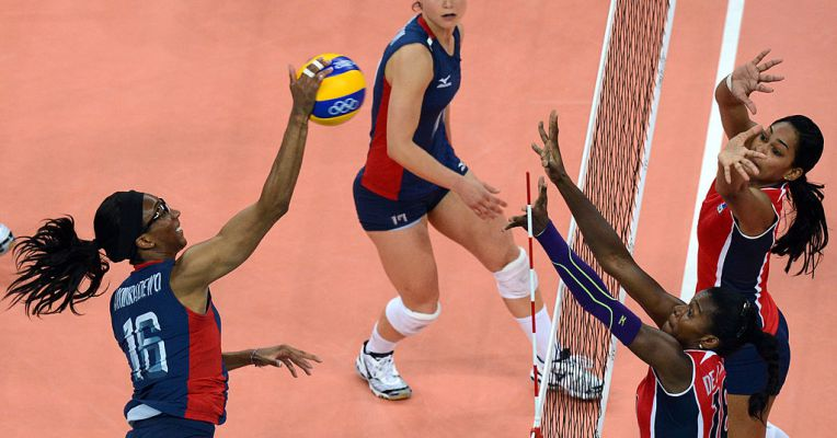 The US women's Olympic volleyball team is using a wearable by VERT to monitor jumps