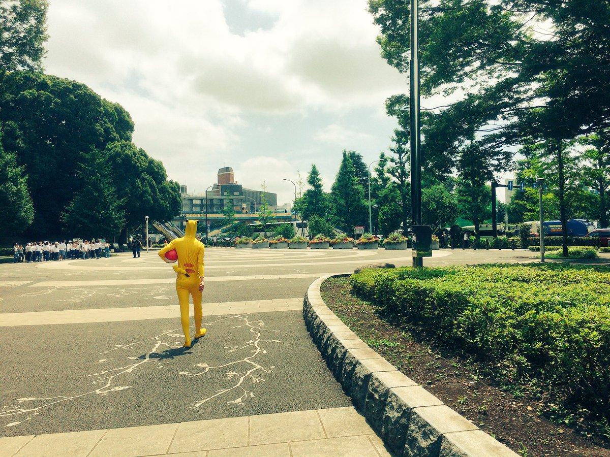 ついに日本でもPokemon Go始まった!?拡張現実とは思えないリアルさ。 https://t.co/ivqBZGXSdC