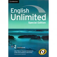 حل كتاب english unlimited special edition 2
