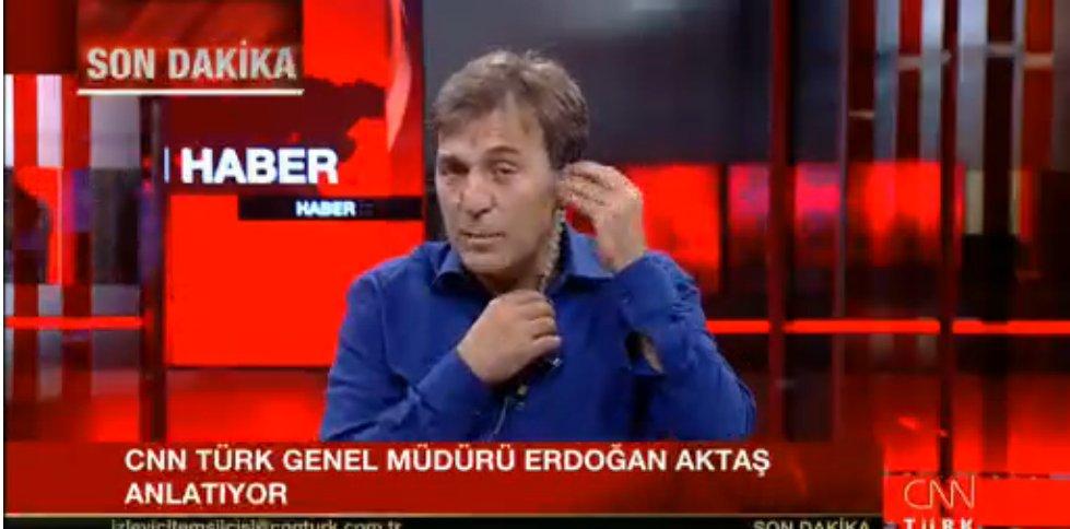Head of @cnnturk @aktaserdogan is back on air explaining what happened  https://t.co/efHn9mIHop https://t.co/SrE3JiOALq