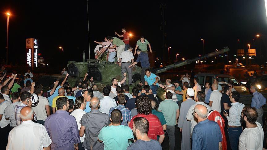 GBR2 Saat Rakyat Turki Menolak Kudeta Militer