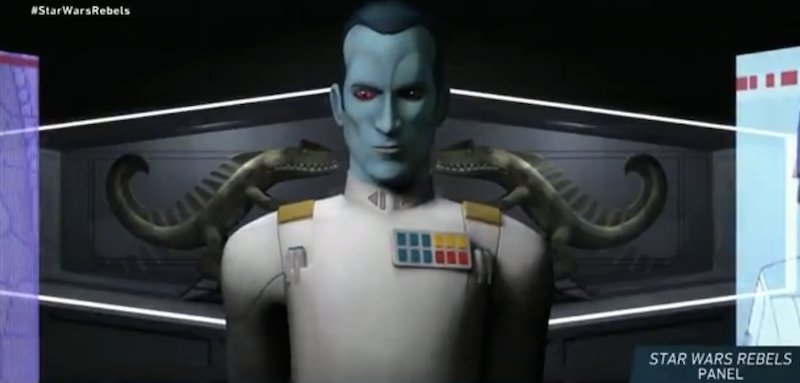 Holy crap. Thrawn joins Rebels and the new Star Wars canon