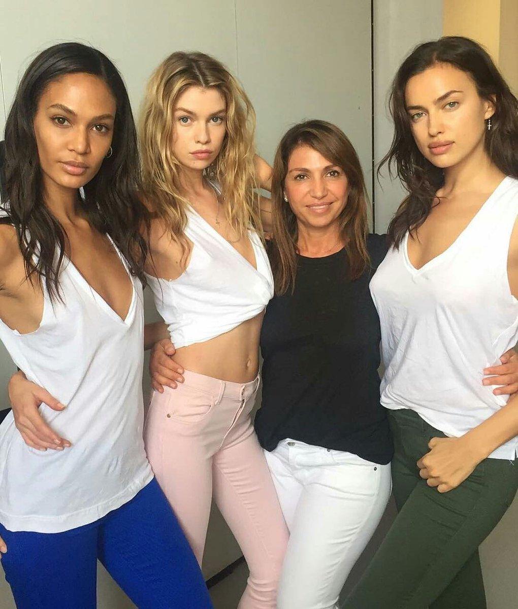 Watch Joan smalls stella maxwell and irina shayk topless video