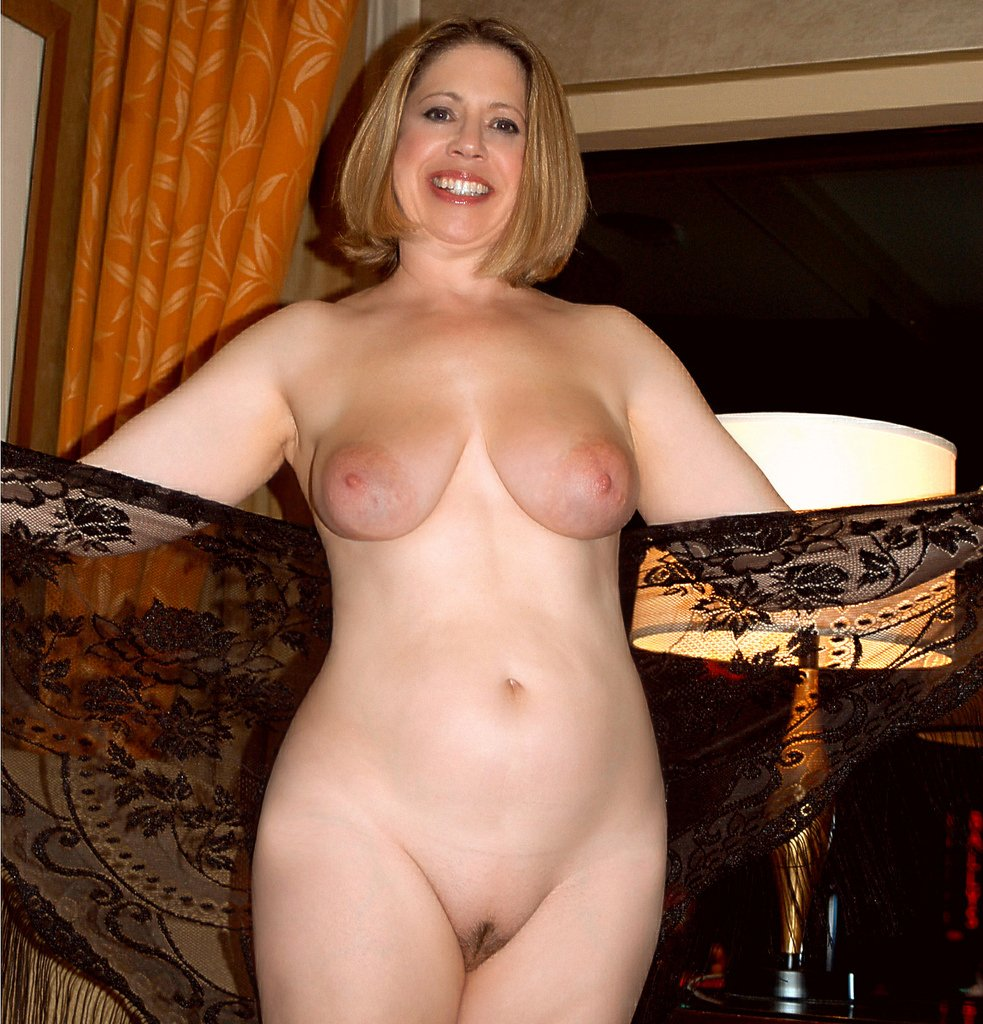 Wife naked post mature