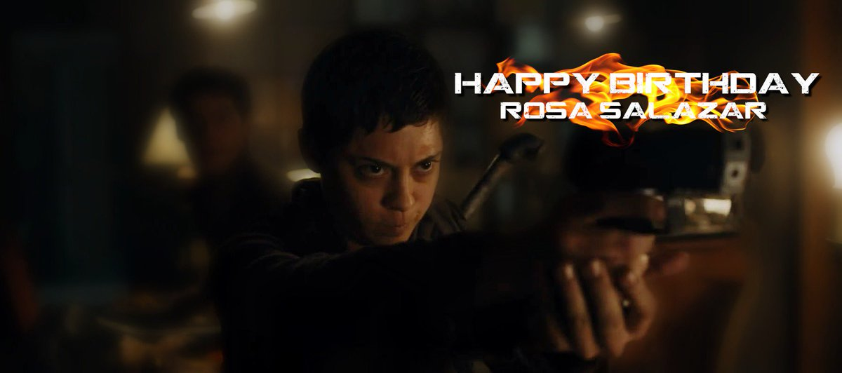 Make sure to spread some love for this badass over here - Happy Birthday @rosa_salazar! We hope you'll enjoy the day https://t.co/dUzhuN88ks