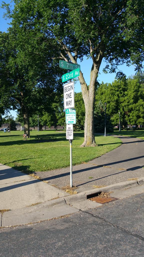 Mixed number street sign? I must have arrived @TmathC #tmc16 https://t.co/ZOCrKrECAt
